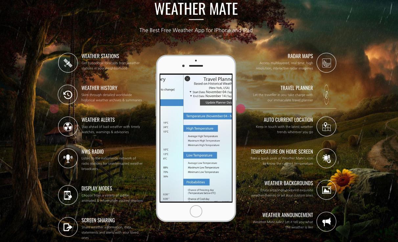 [I.am.App] 웨더 메이트 프로, 날씨 예측 '레이더+위성 사진' 보고 내가 직접!