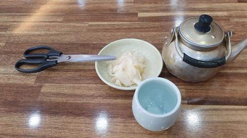 가위-무김치-주전자-컵