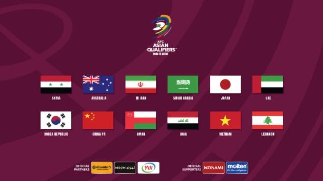 나라별국기-월드컵참여국가