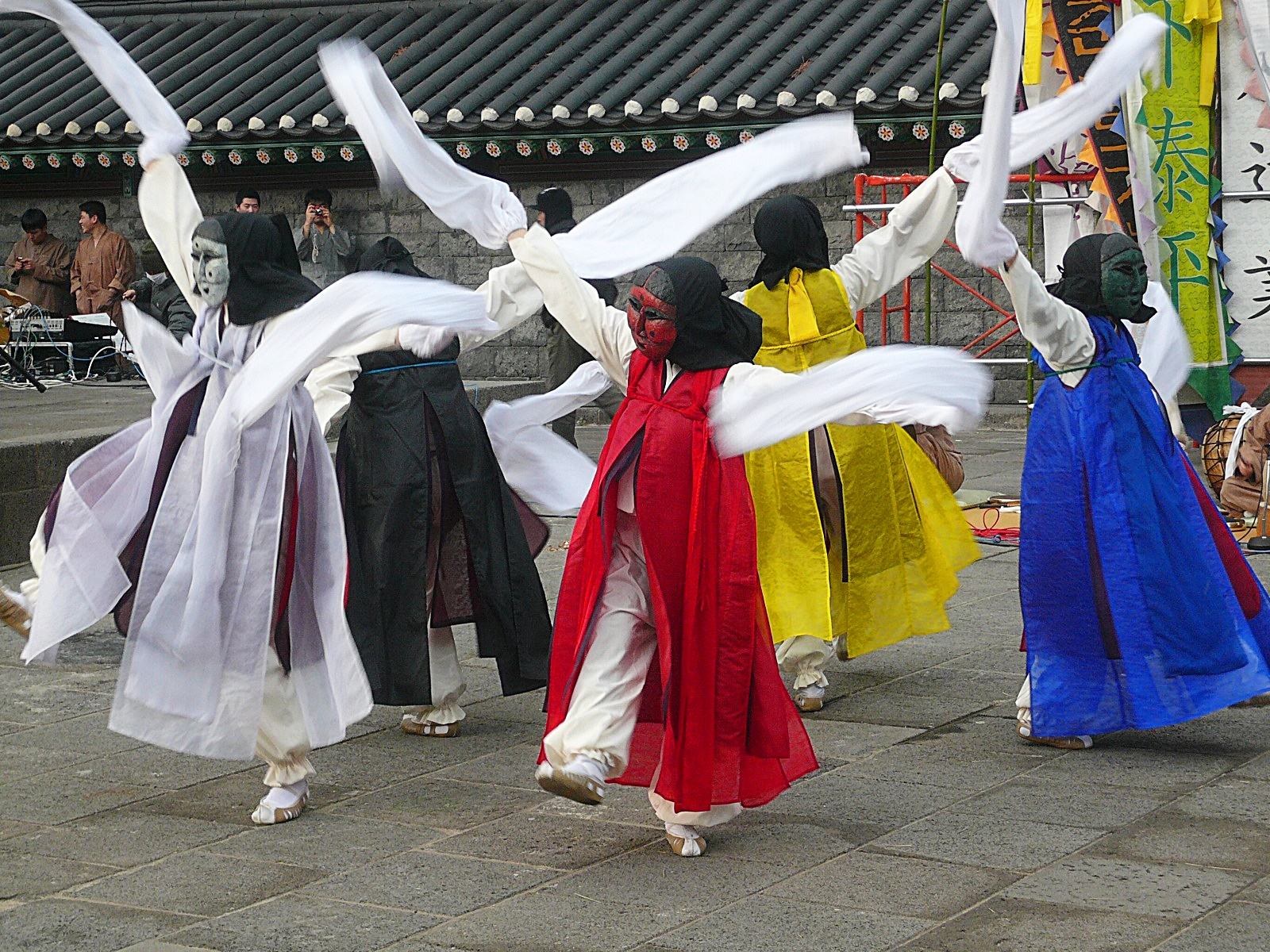 탐라국 입춘굿 오방각시 탈춤