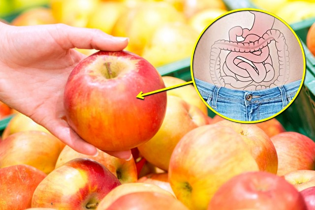 사과 효능, 변비 직빵, 변비에 좋은 음식, 건강, 팁줌마 매일꿀정보