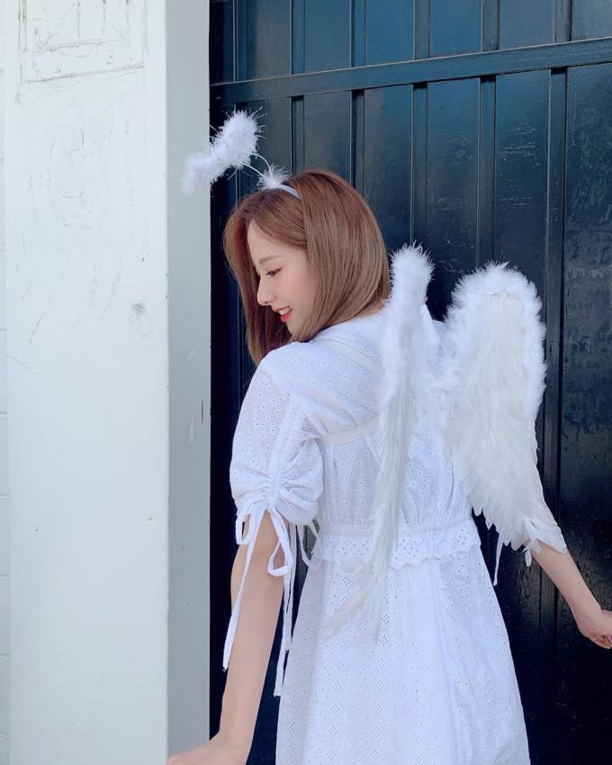 [연예] [움짤]             뽀랑둥이 우주소녀 보나.if -  와이드섬