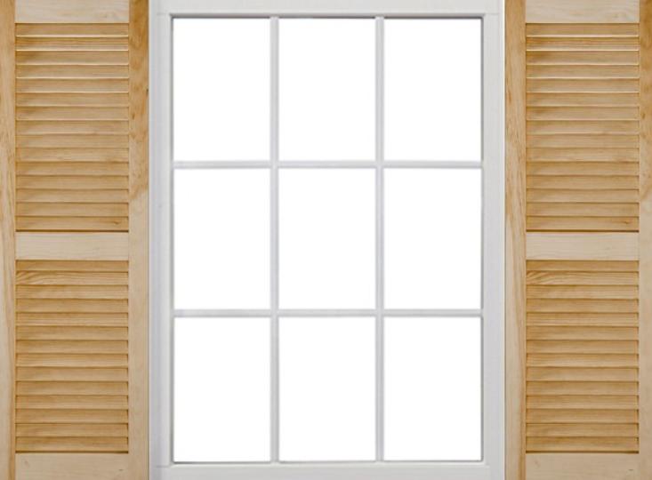 창문-루버셔터