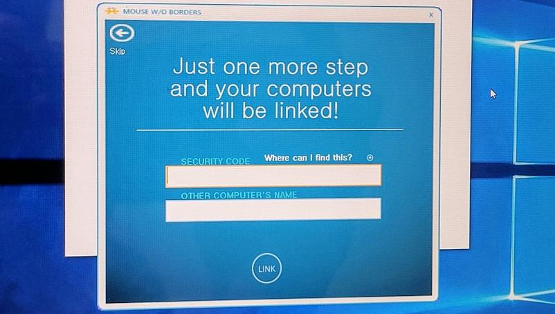 윈도우10 mouse without borders 설정 방법 사진 4