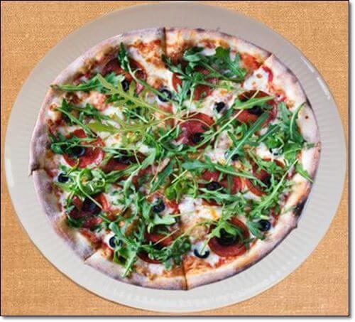 루꼴라 피자