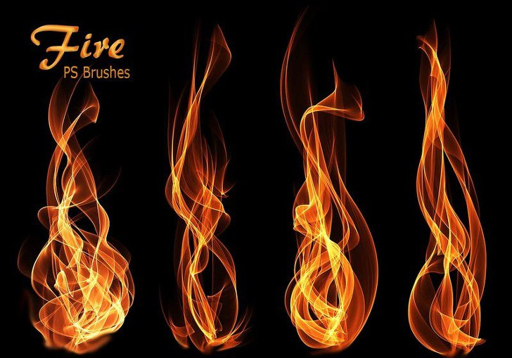 Photoshop Fire & Flame brushes