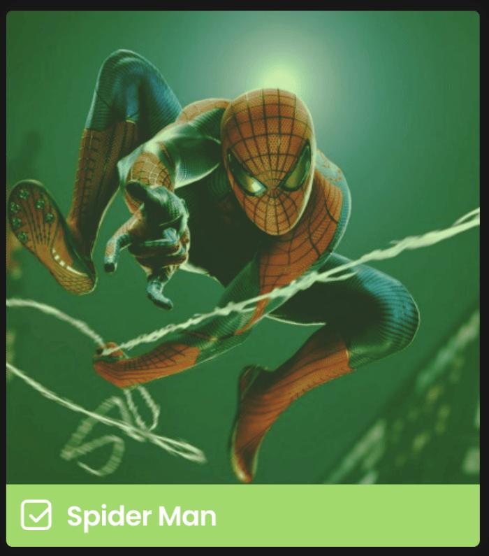 블랙위도우-스파이더맨