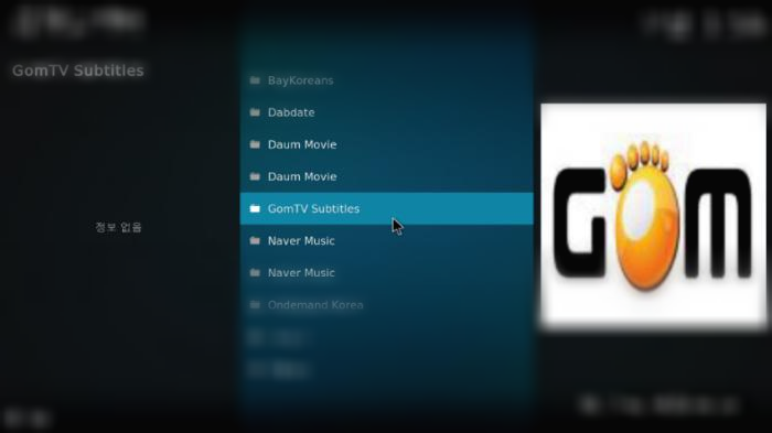 GomTV Subtitles