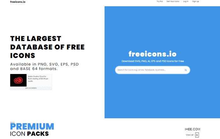 freeicons 무료 아이콘 디자인 소스