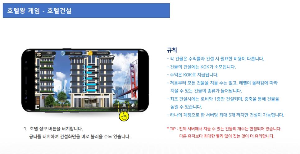 콕플레이(KOK-PLAY) 메뉴얼 4탄 – 호텔왕게임插图5