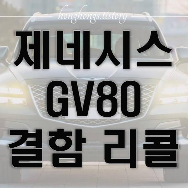 gv80 결함