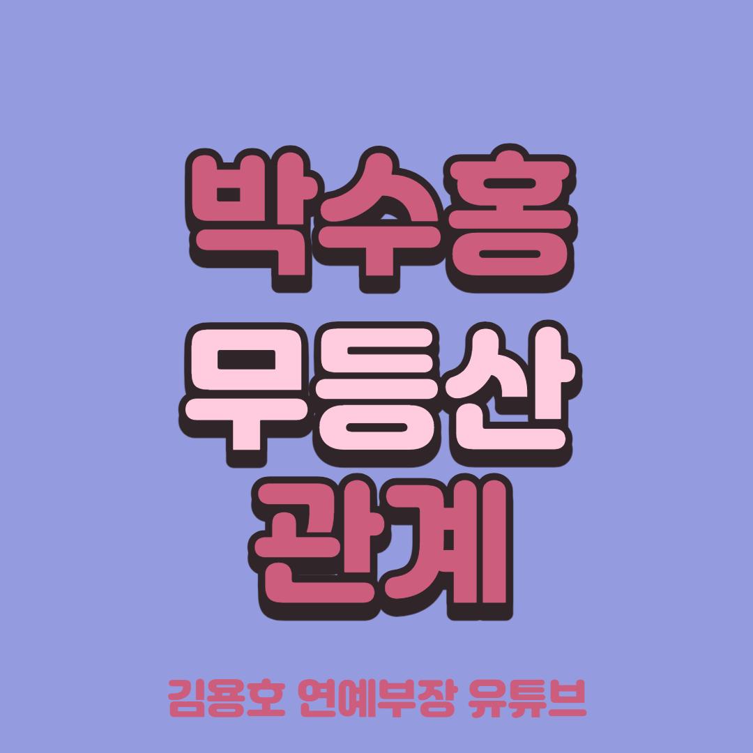 박수홍 무등산