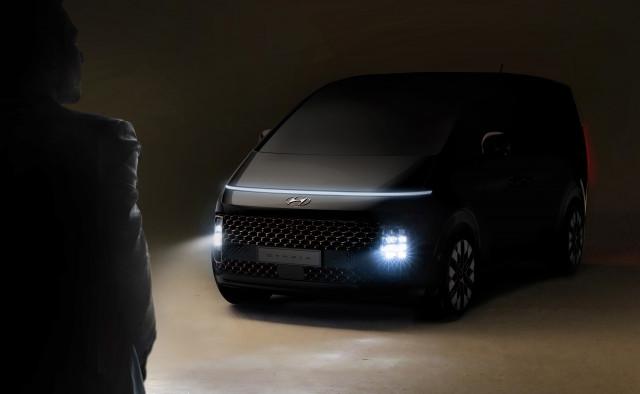현대자동차, '스타리아' 티저 이미지