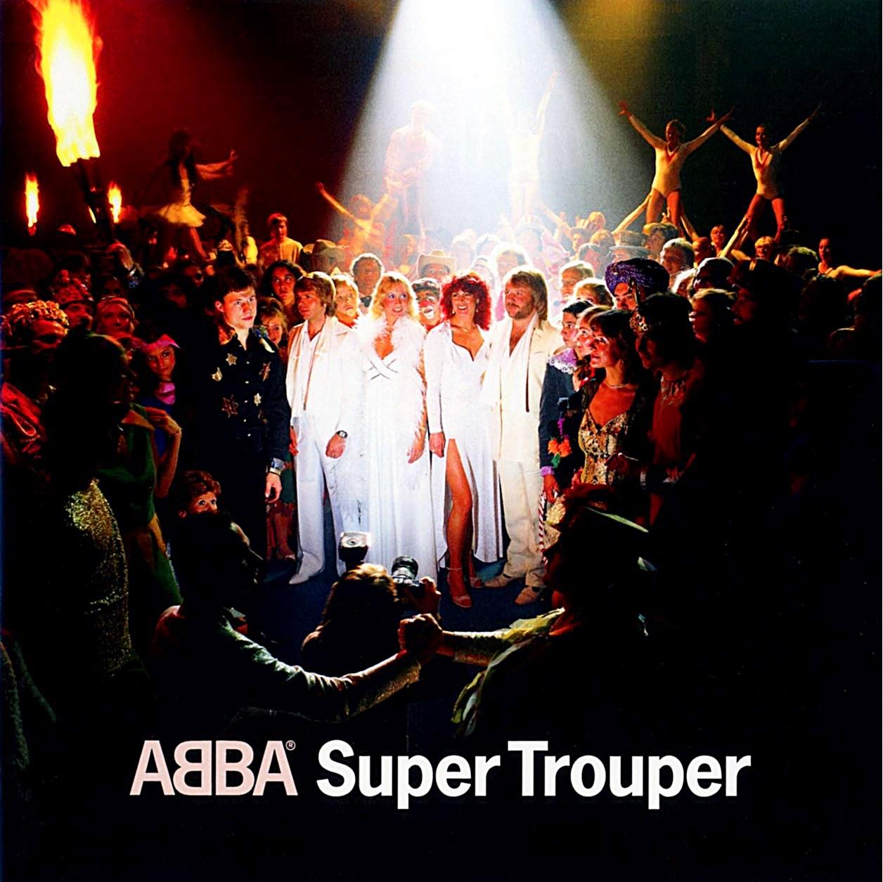 ABBA의 Super Trouper 음반 표지
