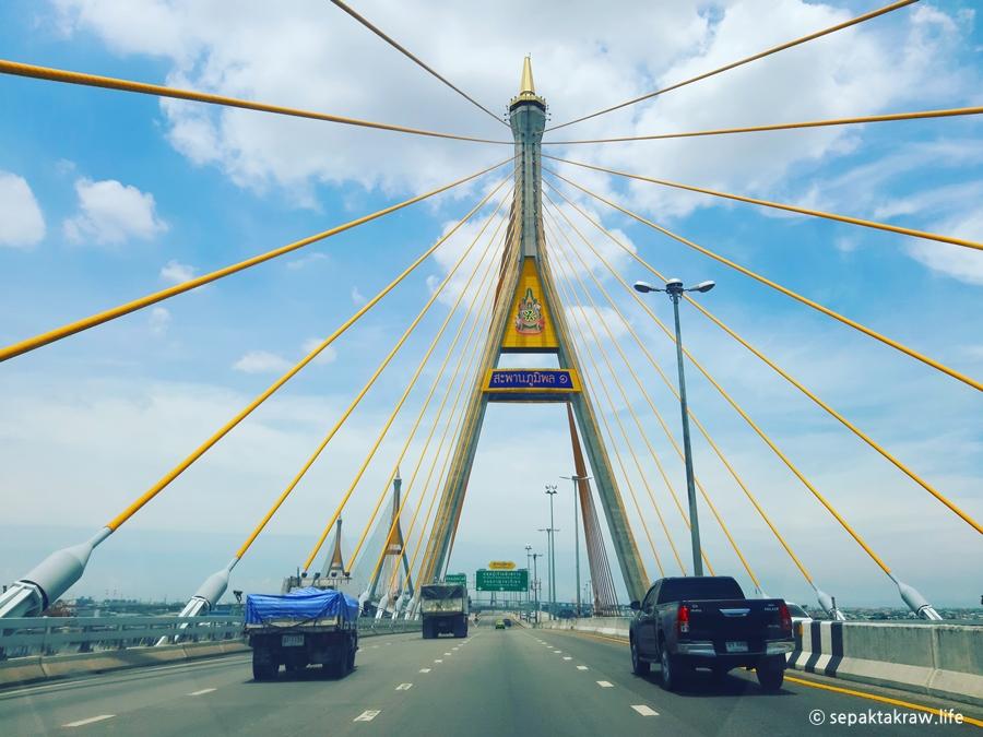 태국방콕라마9세다리