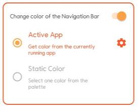 Navbar Apps 내비게이션바 색상 변경