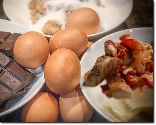 달걀과 닭가슴살