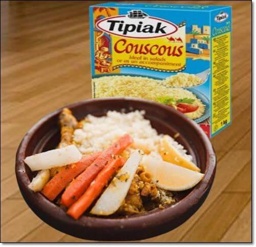 쿠스쿠스 음식