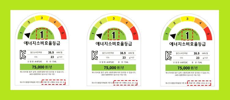 에너지효율1등급 환급신청 기간