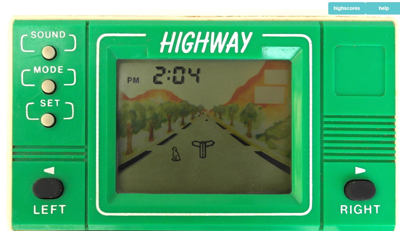 온라인에서 클래식 LCD 액정 게임기