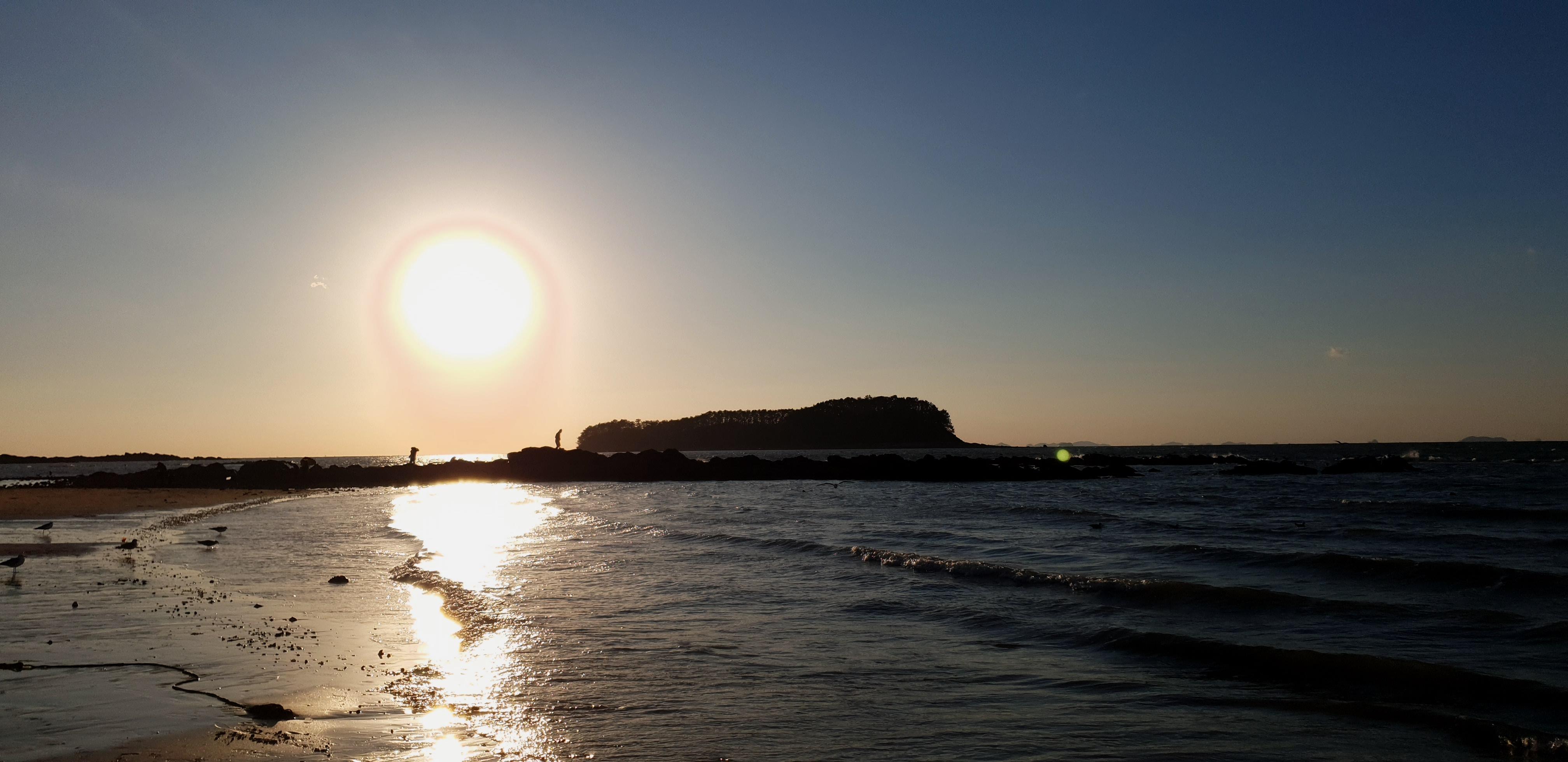 20.10월 무창포 해변