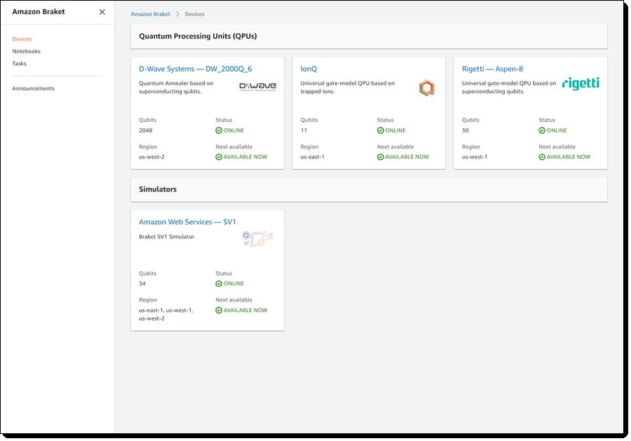 양자 컴퓨팅 개발 환경도 클라우드로…AWS, '아마존 브래킷' 정식 서비스