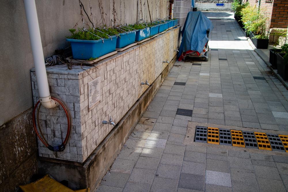 홍수 피해를 막아주고 환경을 생각하는 빗물저장소