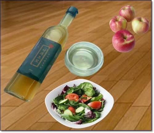 사과초모식초 먹는법