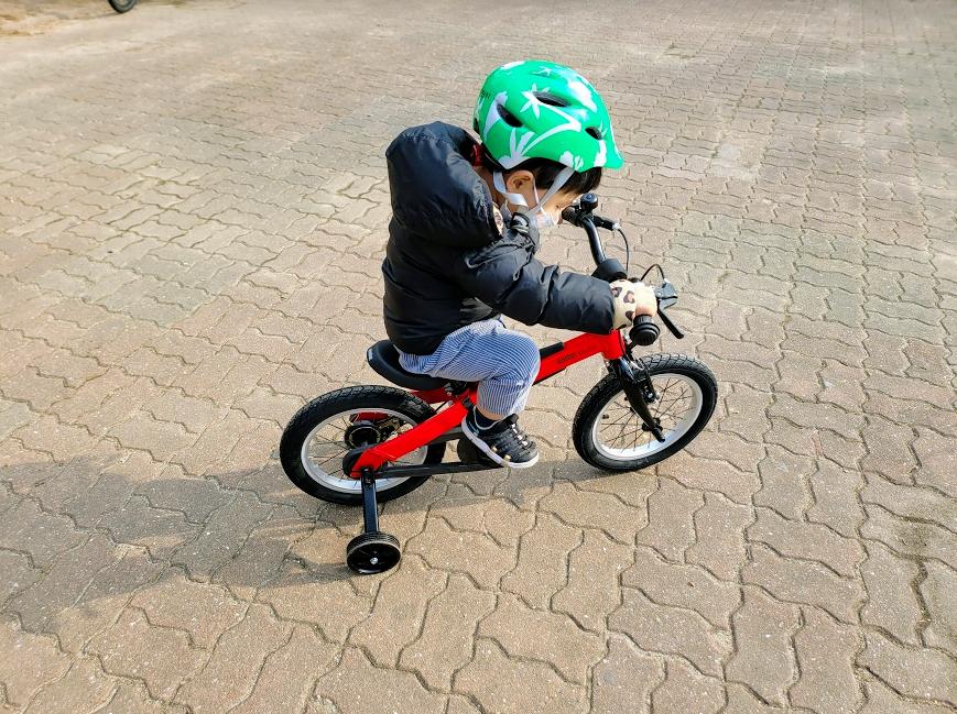 유아 자전거 나인봇 키즈바이크 14인치 리뷰