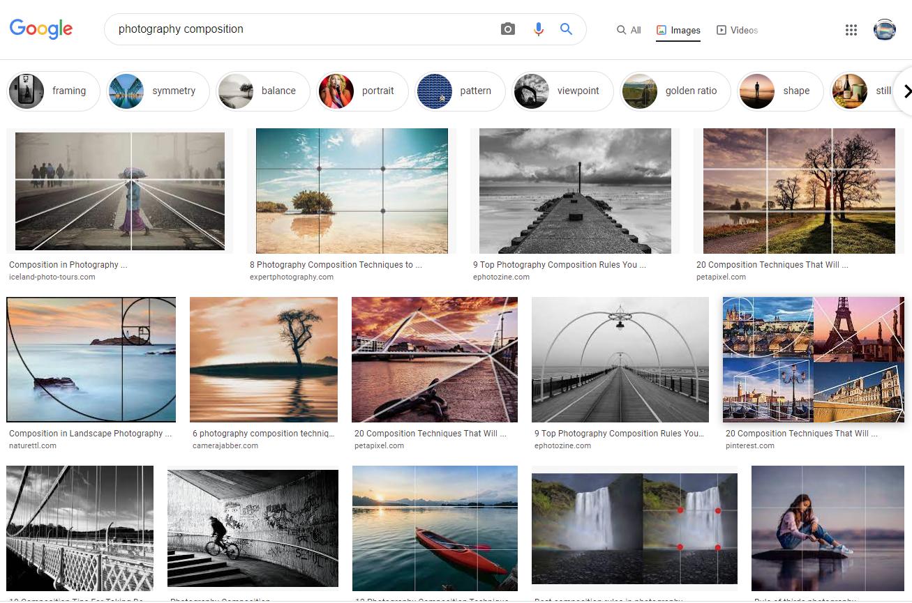 사진 구도를 쉽게 배우는 방법 2가지