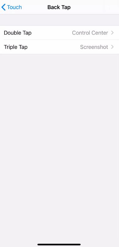 아이폰 iOS14 백탭 기능 사용하기