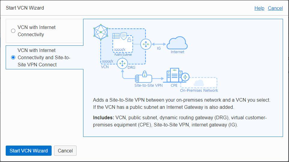 오라클 클라우드 네트워크 - VCN 구성하기