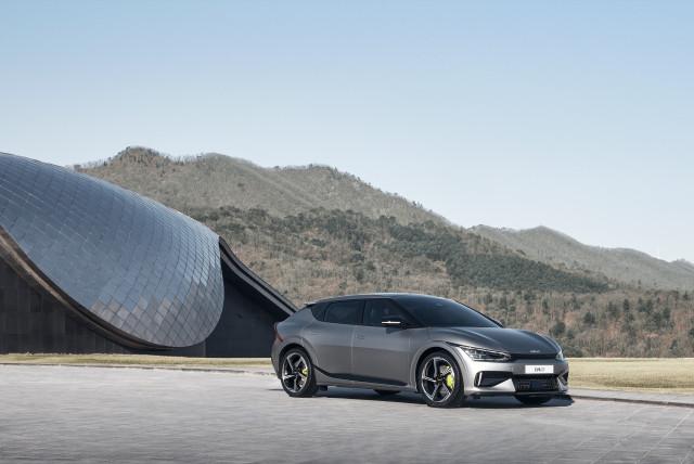 전기자동차 EV 시리즈의 첫 모델 'The Kia EV6(더 기아 이 브이 식스, 이하 EV6)'