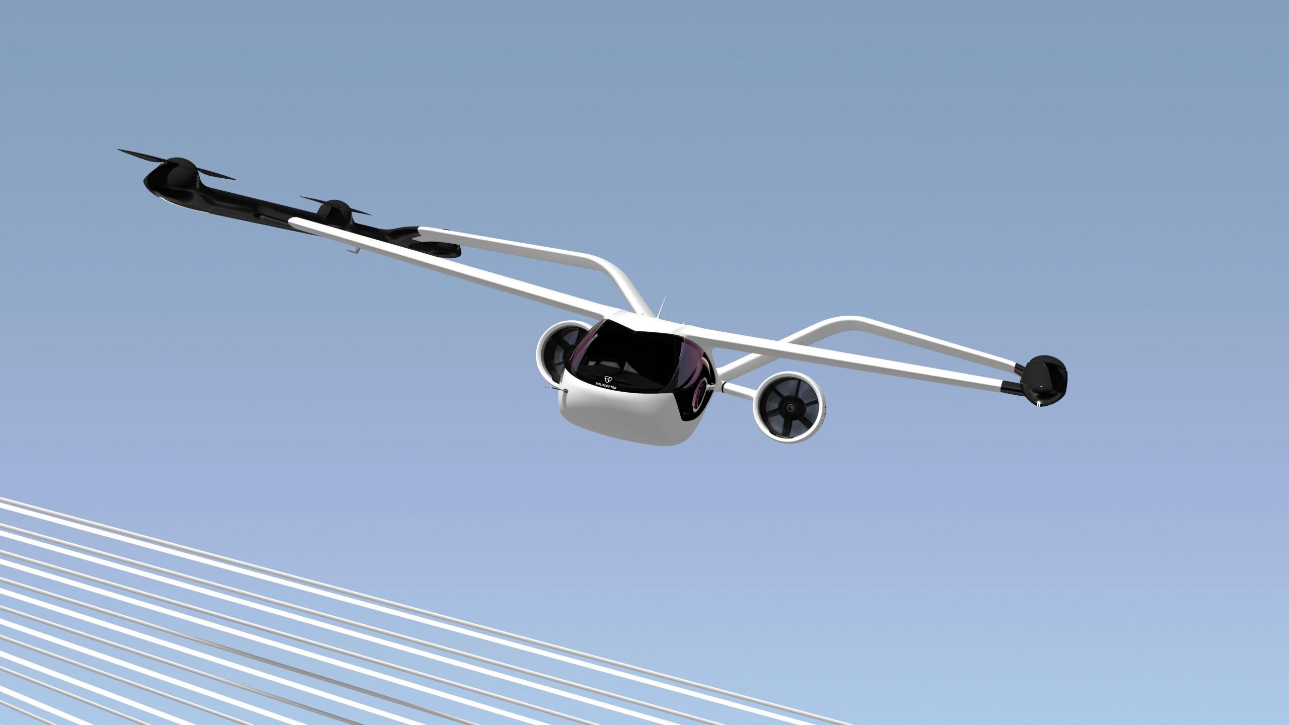 최대 100km 비행하는 4인승 eVTOL…볼로콥터, 도시 통근자를 위한 볼로커넥트 공개