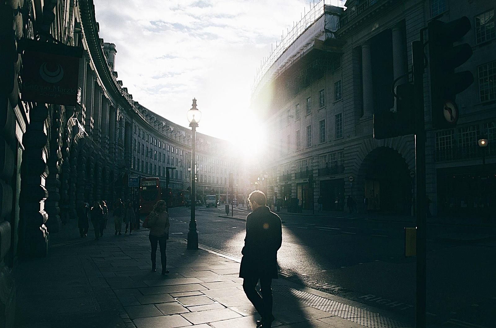 런던의 새벽