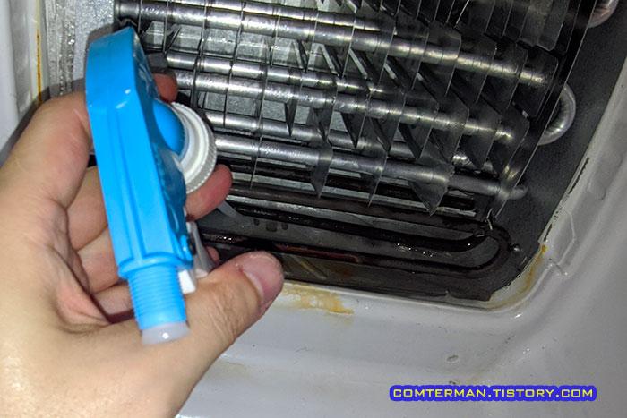 냉동실 배수구 해동 요령