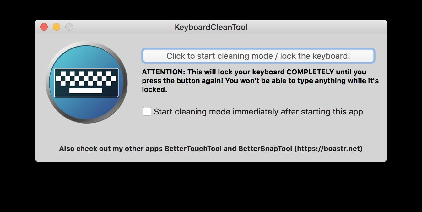 맥 키보드 클리닝 툴 프로그램