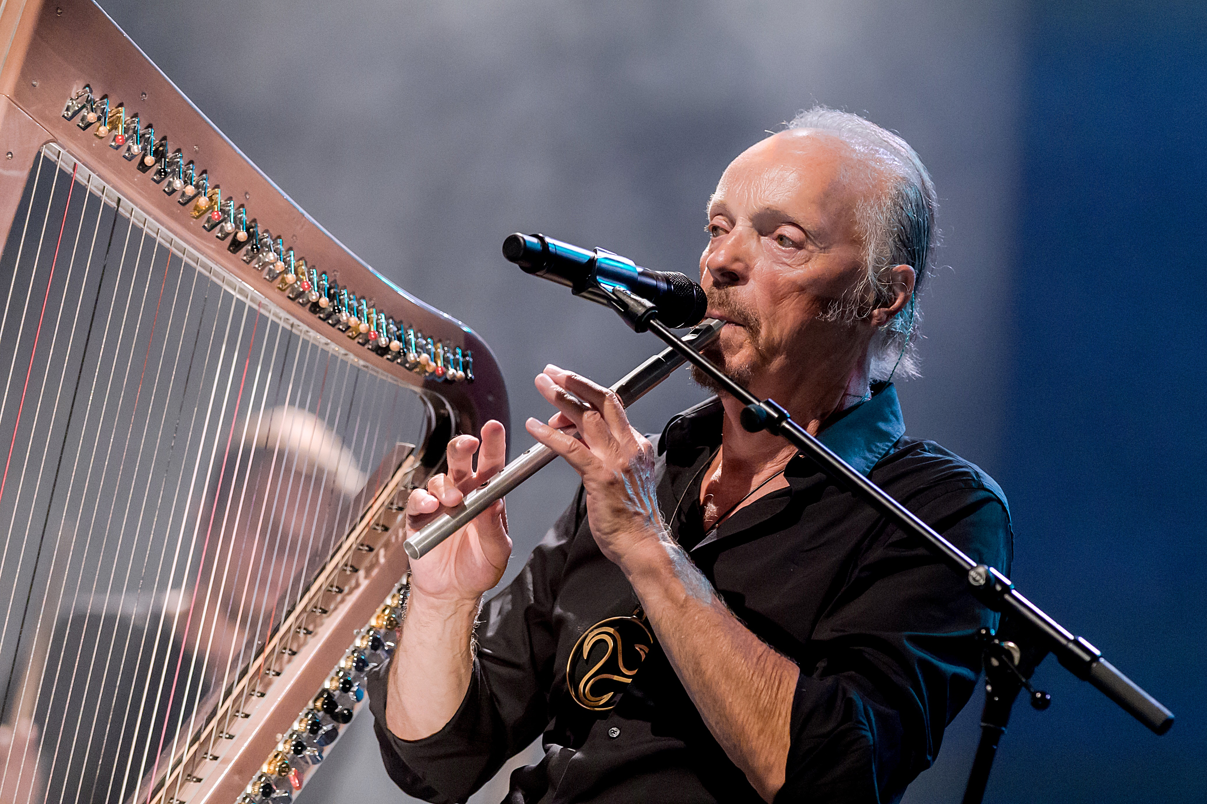 Alan Stivell with Low Whistle
