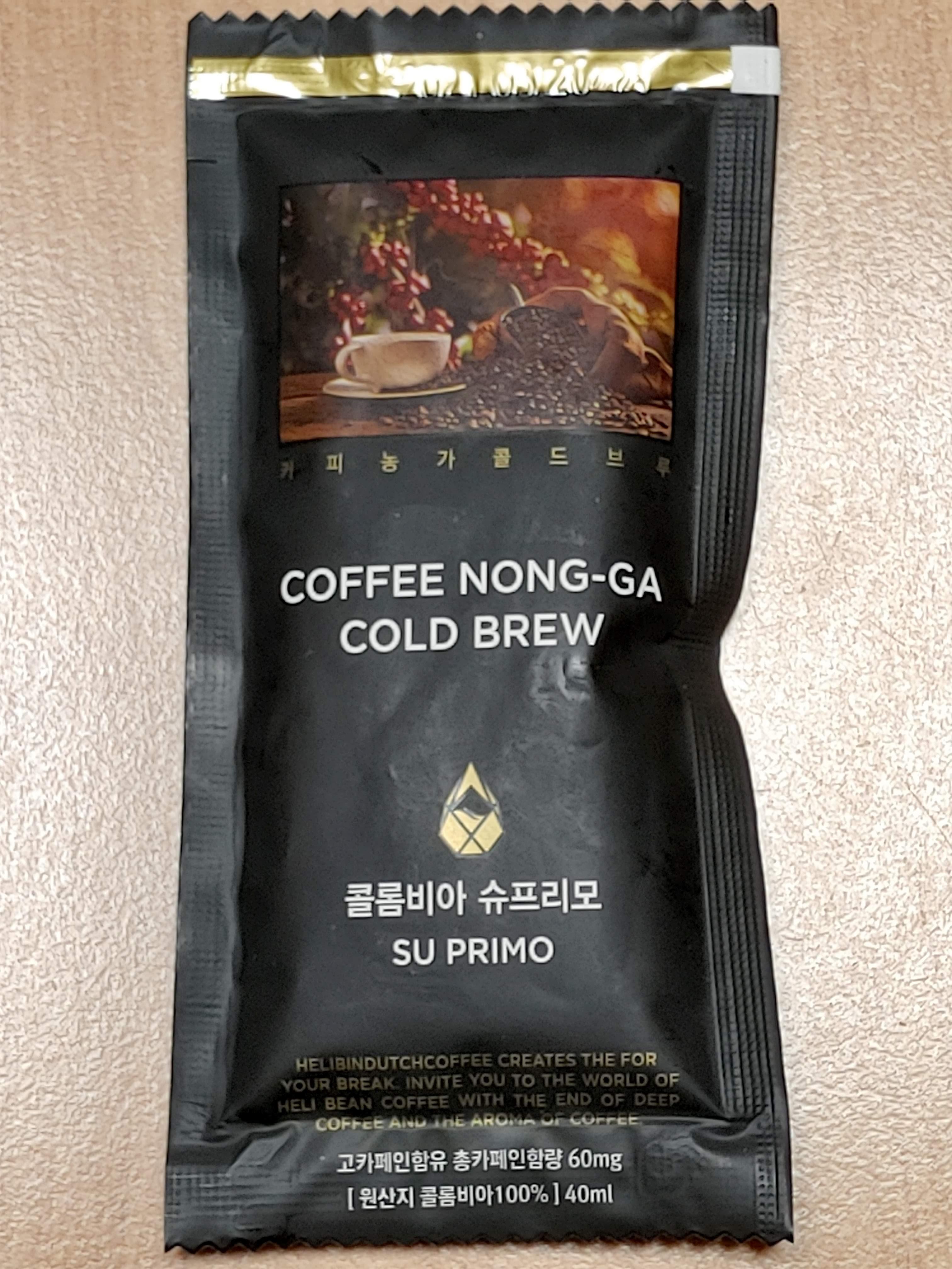 [액상커피] 간편하게 즐기는 콜드브루, 커피 농가 콜드 브루