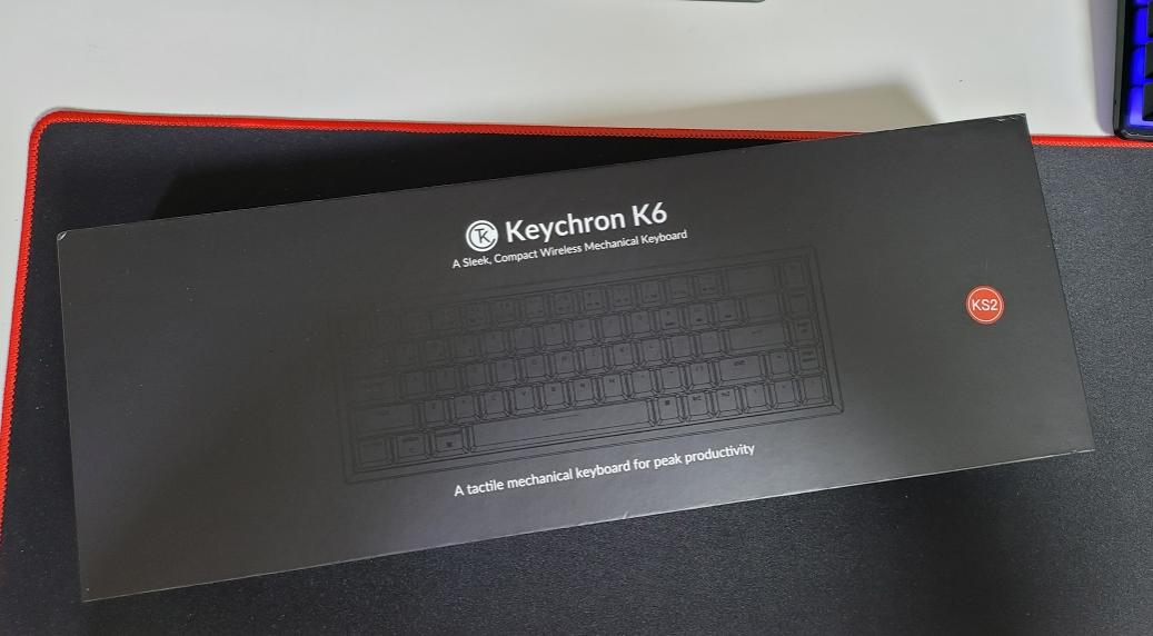 키크론 K6 기계식 키보드 리뷰 사진 1