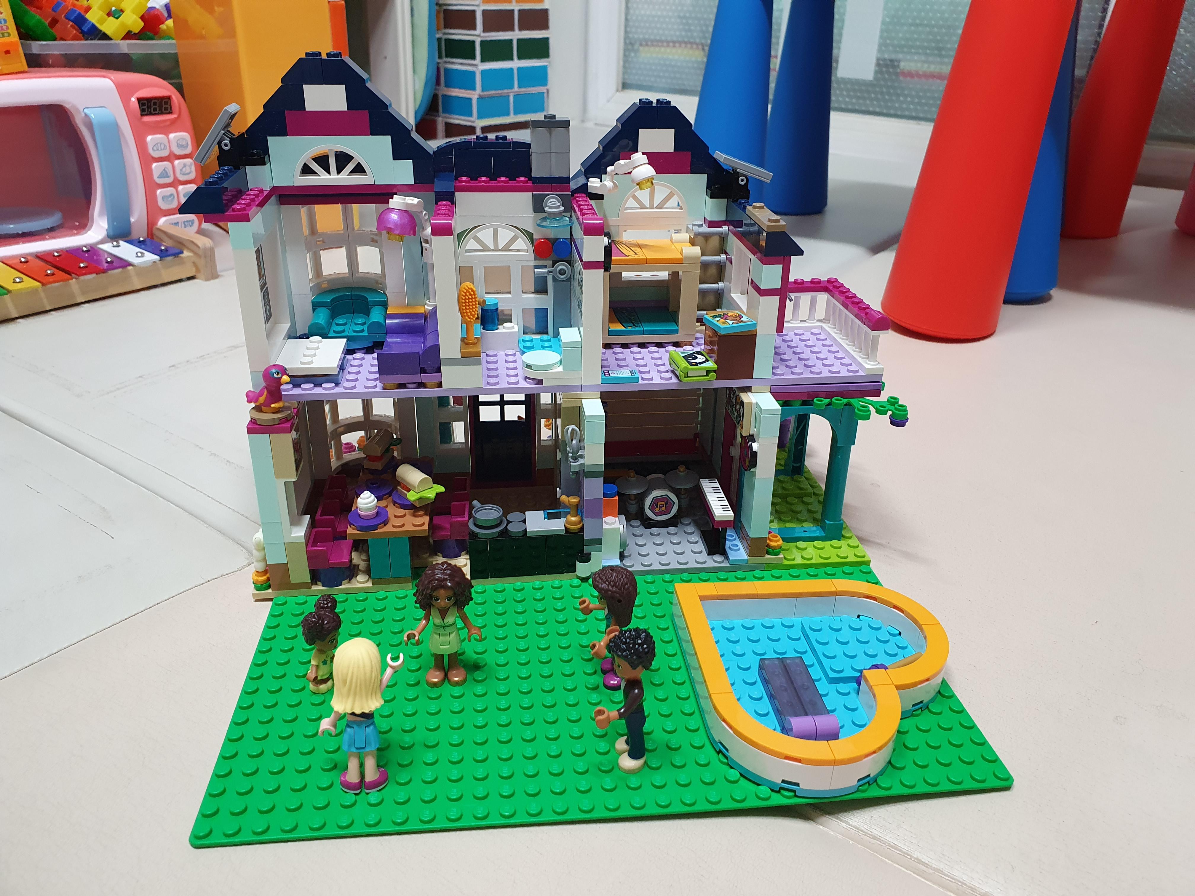 (어린이날 받은 선물) 레고프렌즈, 안드레아의 집