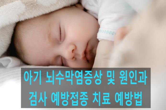 아기뇌수막염증상