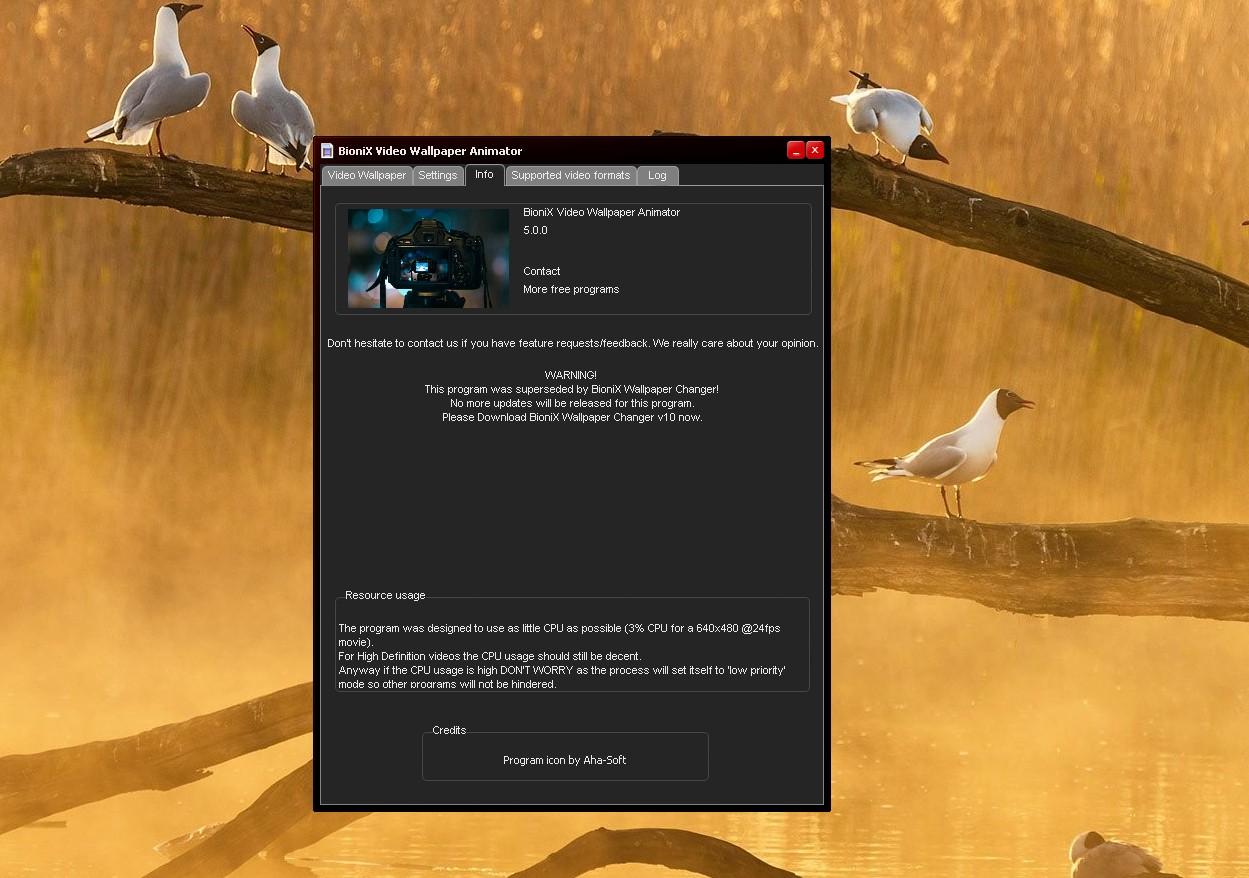 윈도우10 움직이는 GIF 배경화면