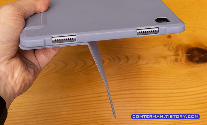 갤럭시탭A7 2020 커버 자석 고정