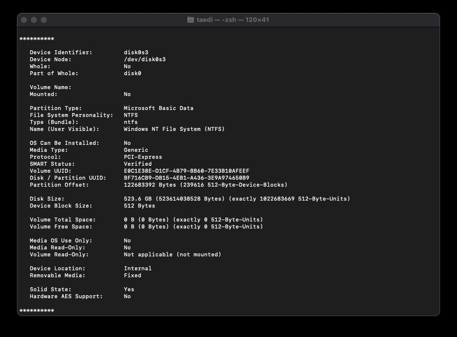 [해킨]PM981a 부팅 시 마운트 하지 않도록 설정하기 (커널패닉 방지) 포스팅 썸네일 이미지