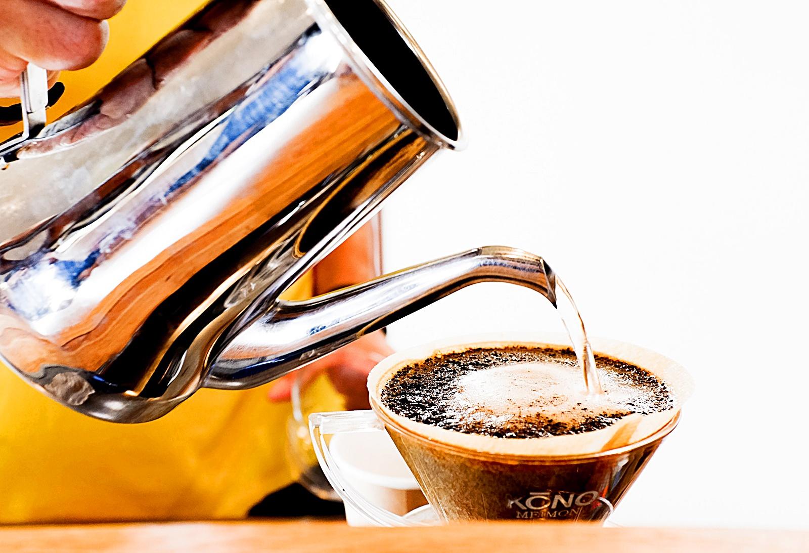 커피 크레마 사진