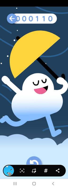 구글의 숨겨진 구름 게임 하는 방법 캡처2
