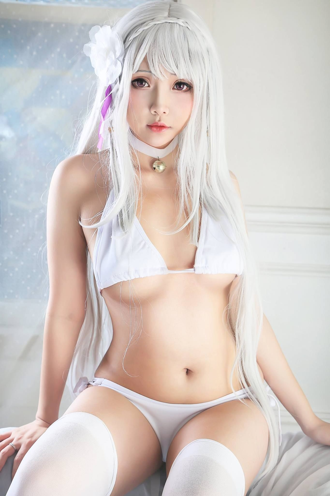 hot Asian cosplay girl