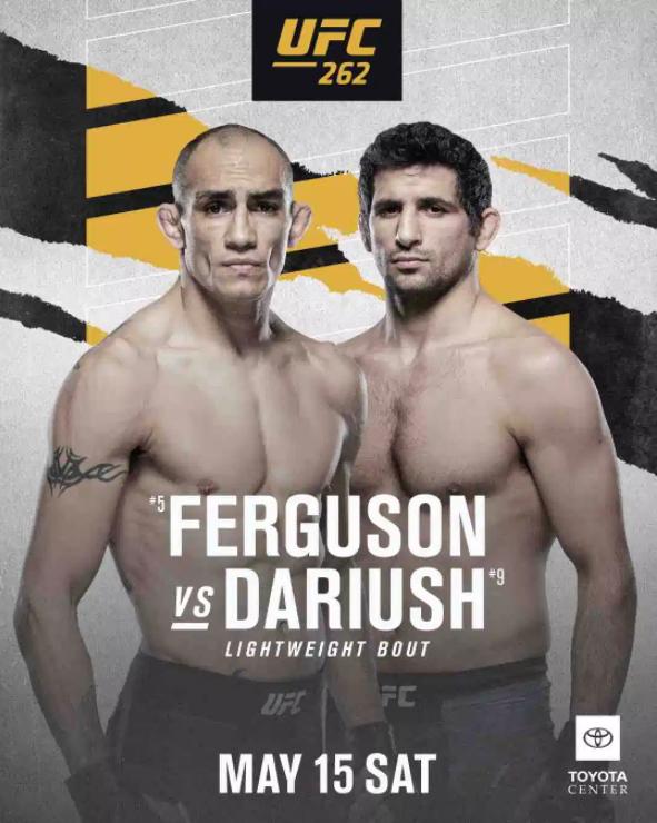 [UFC 트윗 단신] 토니 퍼거슨 베닐 다리우쉬를 상대로 언더독   카마루 우스만 : 네이트 디아즈는 내가 타이틀샷을 줘도 거절할거야.