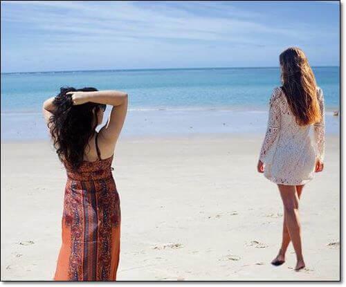 해변의 여인들